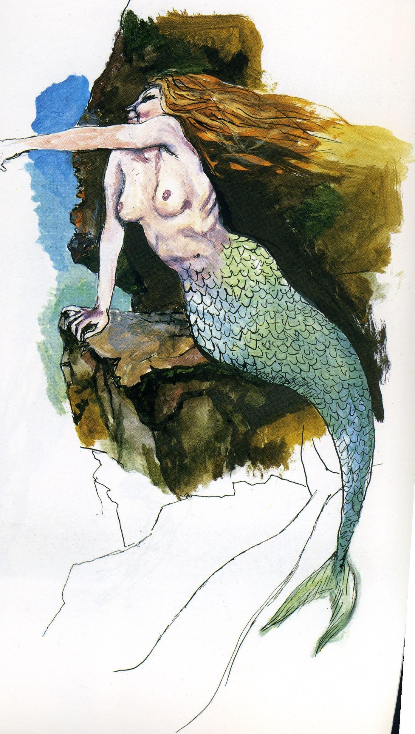 Renato Guttuso - Sirena