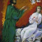 Sebastiano Milluzzo - Sant'Agata guarita da San Pietro