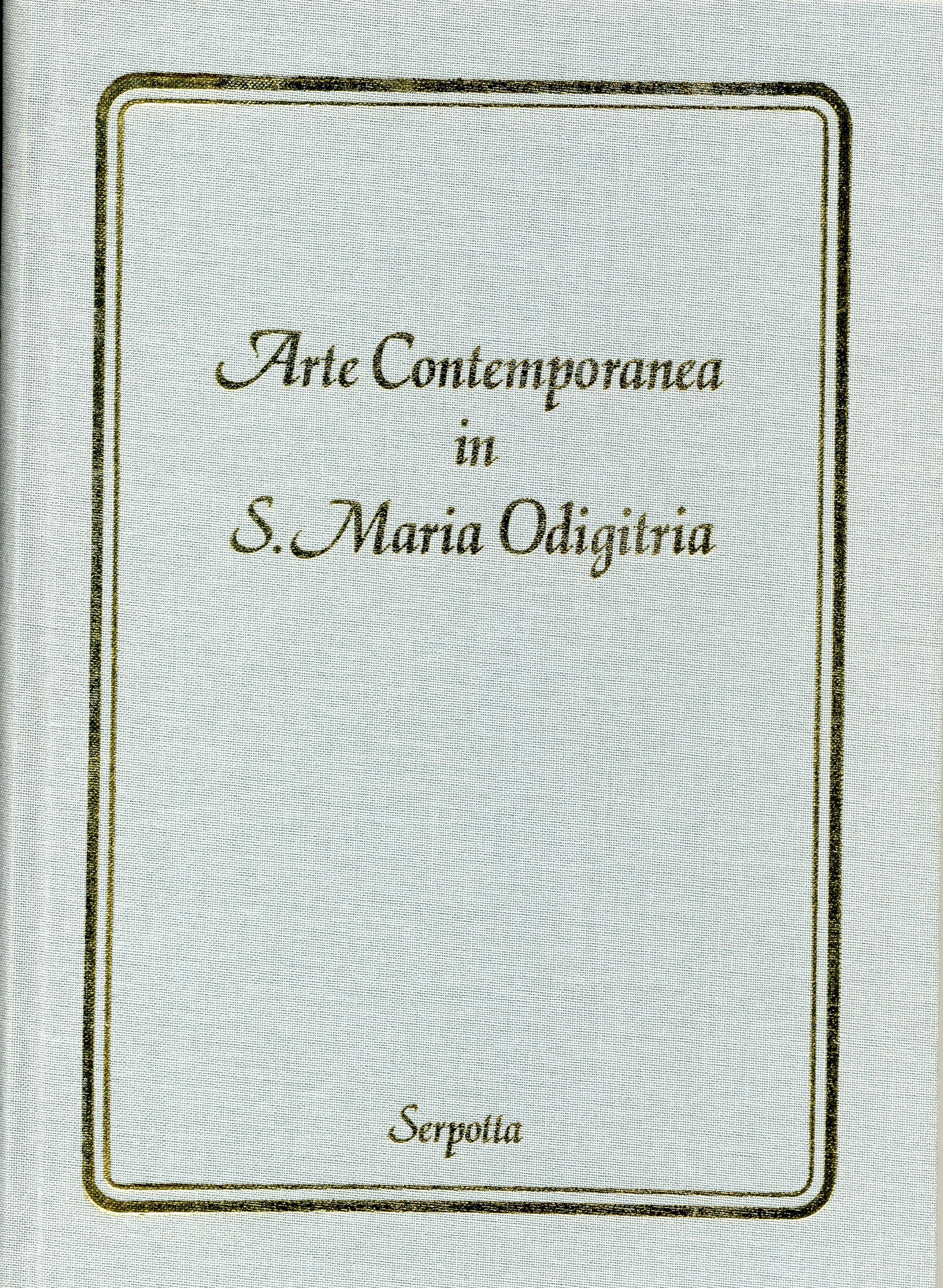 Arte Contemporanea in Santa Maria Odigitria