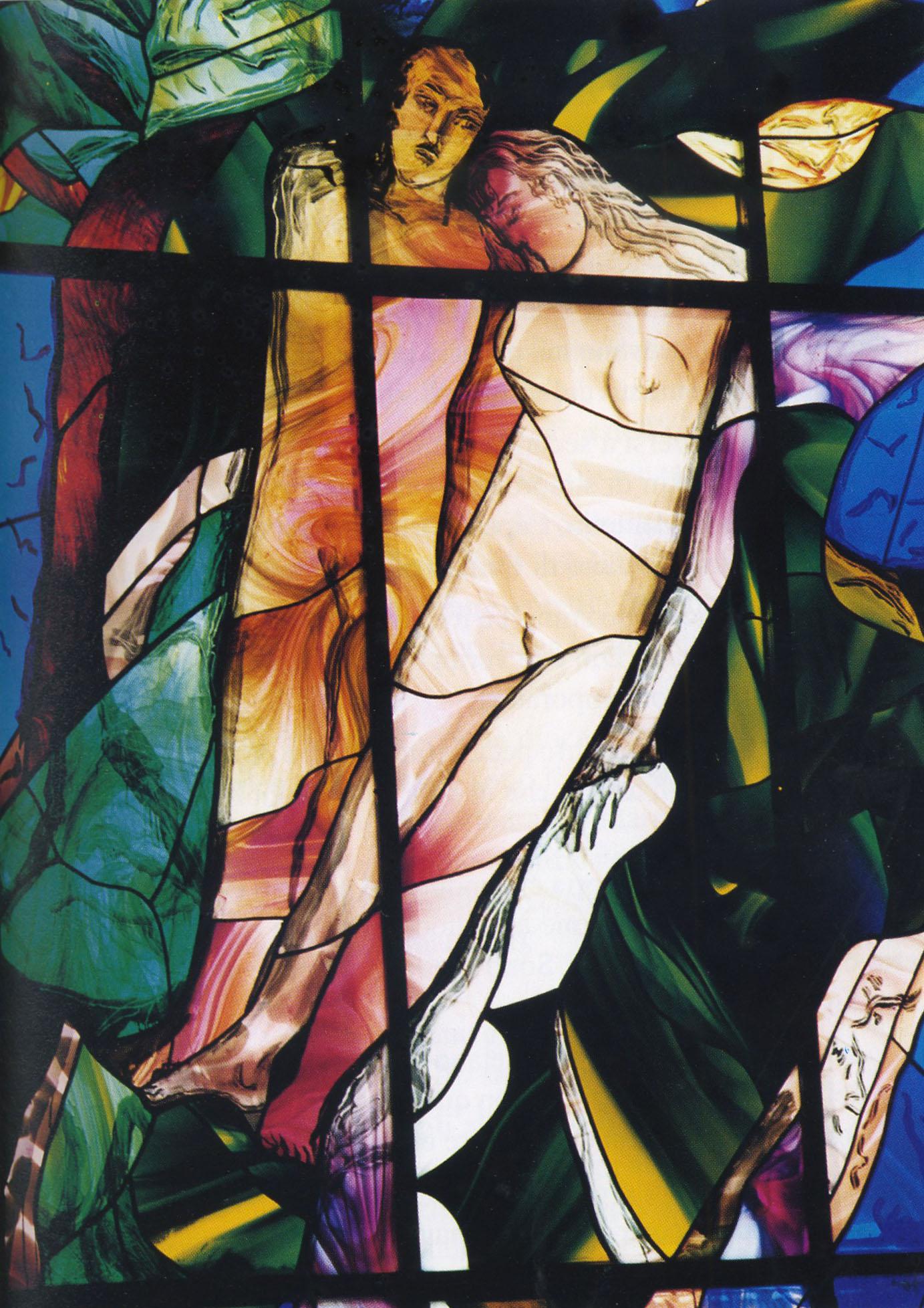 Franco Nocera - La Creazione, Adamo ed Eva