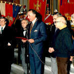 Presentazione dei maestri Fiume, Milluzzo, Migneco e Bardi