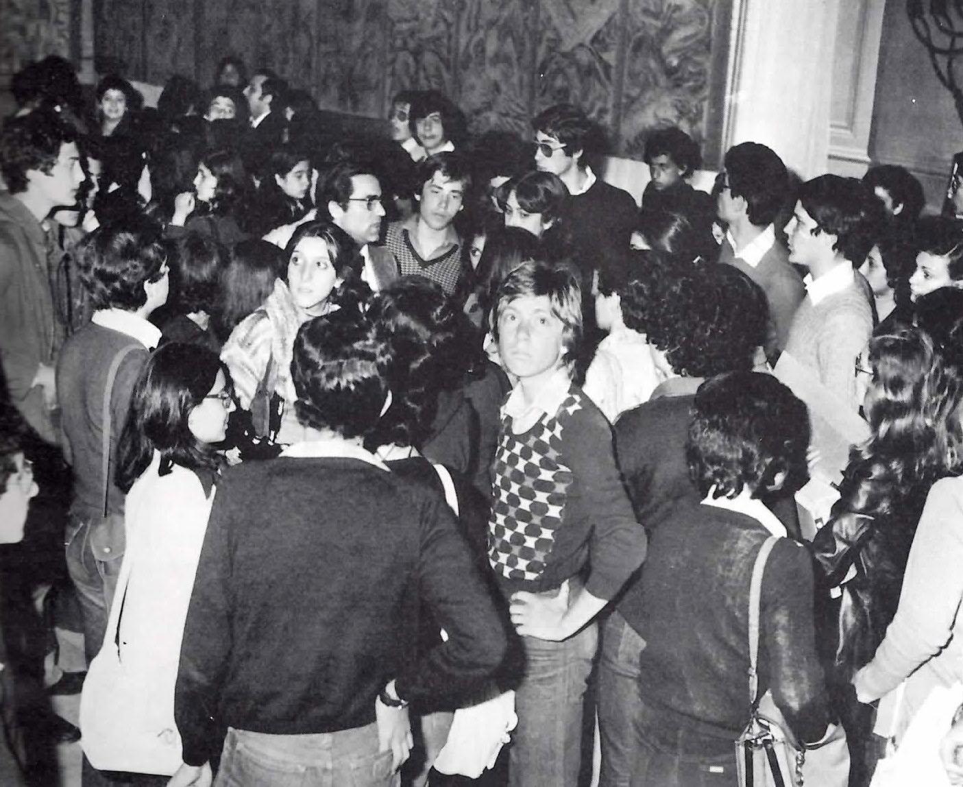 Visita degli studenti della regione e della provincia alla mostra del sacro