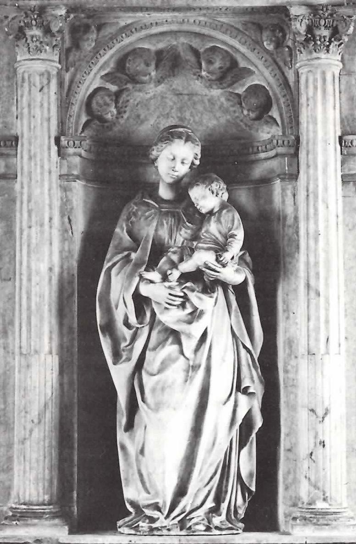 Antonello Gagini - Madonna degli Anzaloni - Galleria nazionale