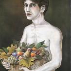 Bruno Caruso - Ragazzo con il cesto di frutta