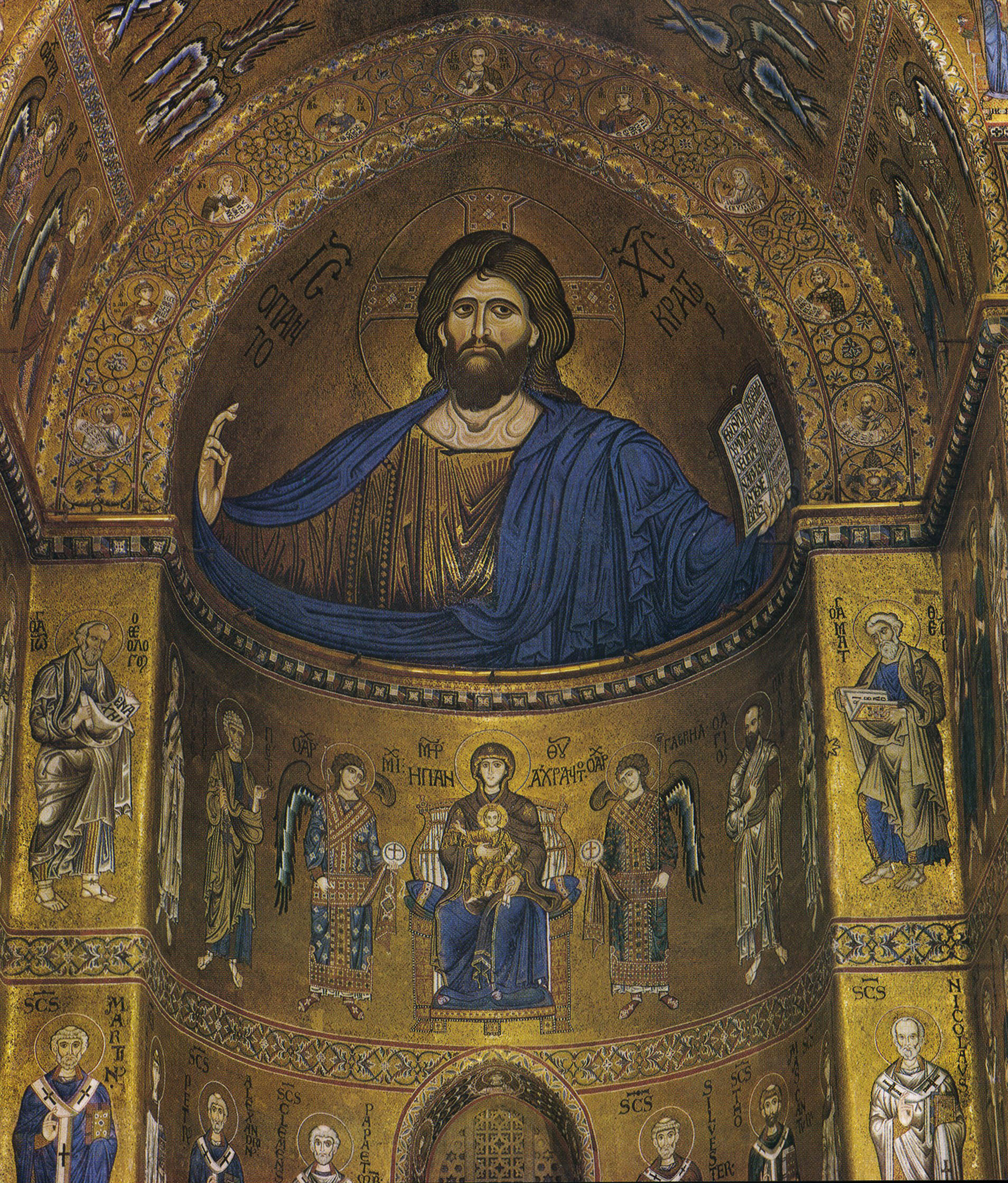 Catino absidale, Duomo di Monreale