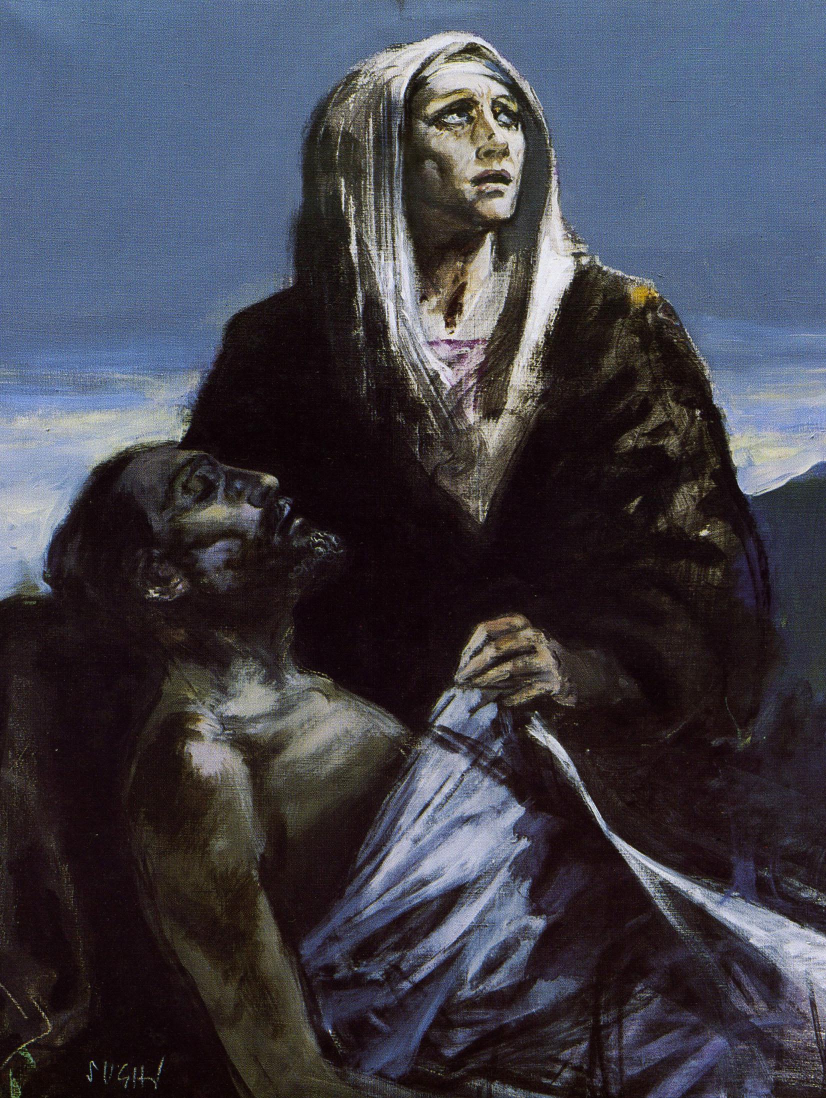 Alberto Sughi - La Pietà