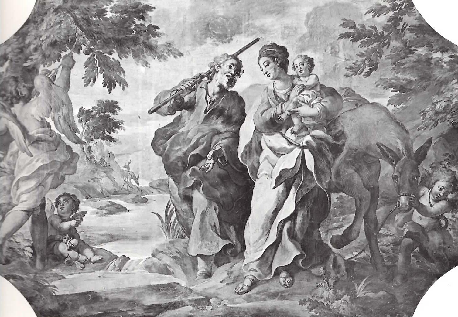 Guglielmo Borremans - Fuga in Egitto - Palazzo Arcivescovile