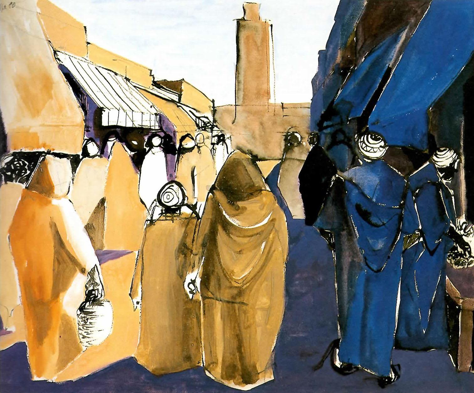 Luigi Coppa - Strada di Tiznit, Marocco