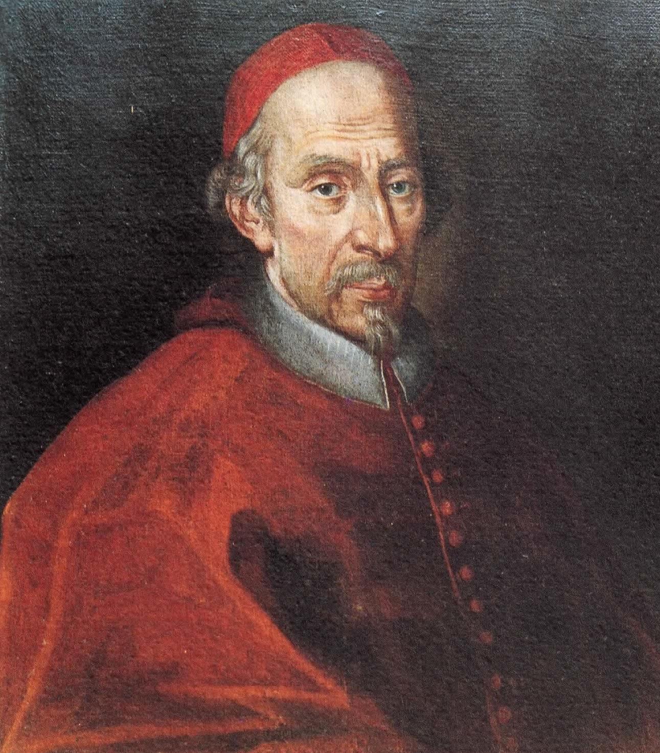 Ritratto del Cardinale Corradini della prima metà del Settecento