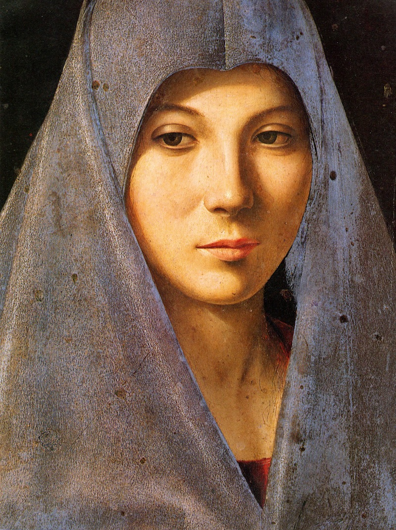 Antonello da Messina - Annunziata 1476