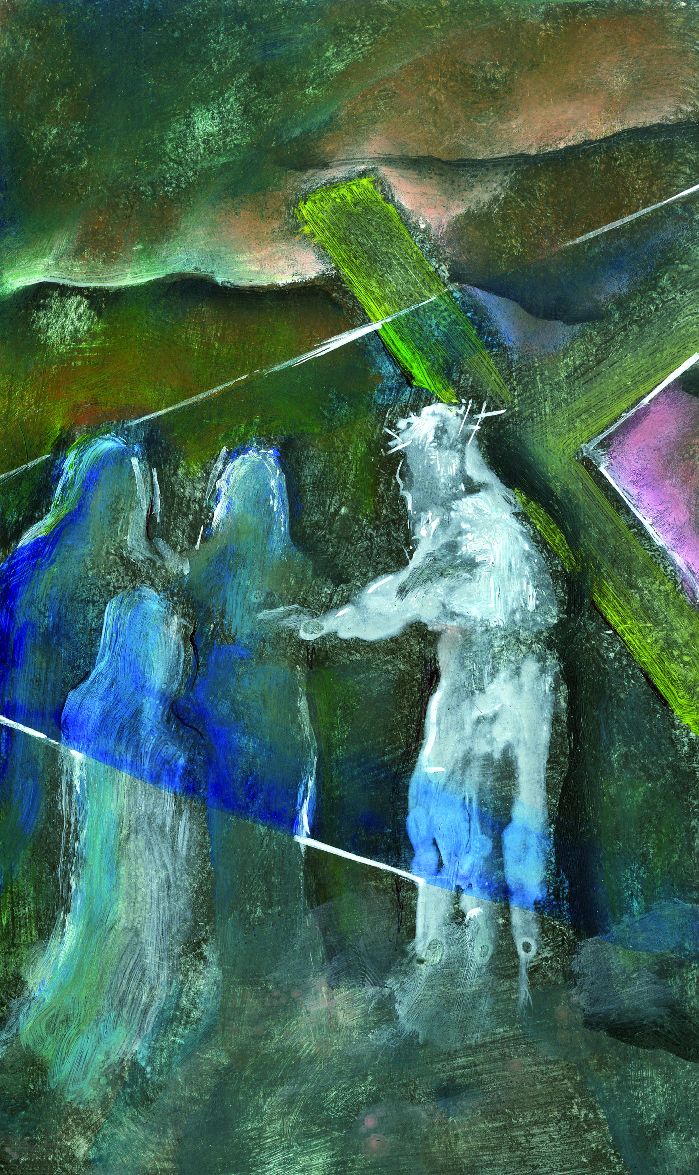 Gesù incontra le donne di Gerusalemme