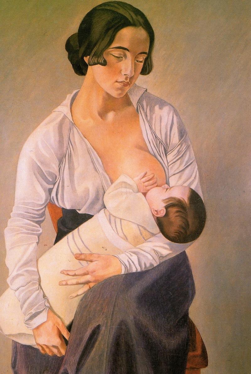 Gino Severini - Maternità, 1916