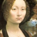 Leonardo da Vinci - Ritratto di Ginevra Benci, 1474