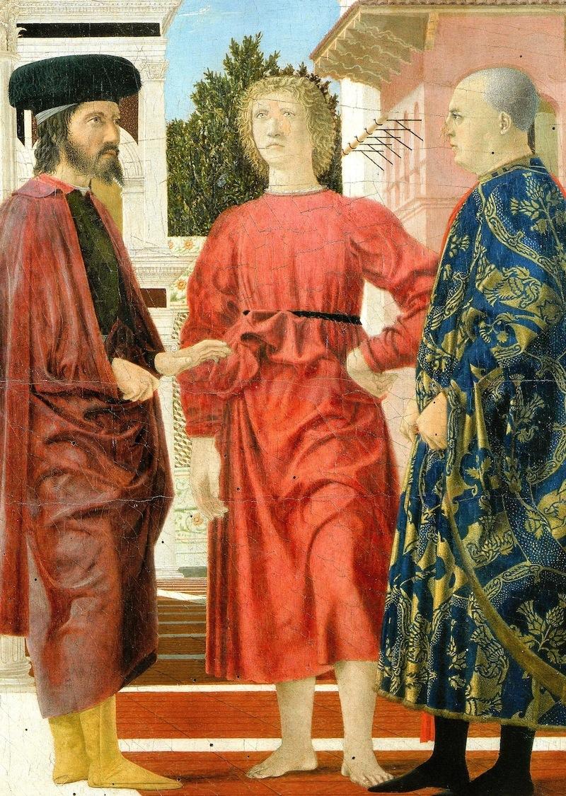Piero della Francesca - Flagellazione, 1459