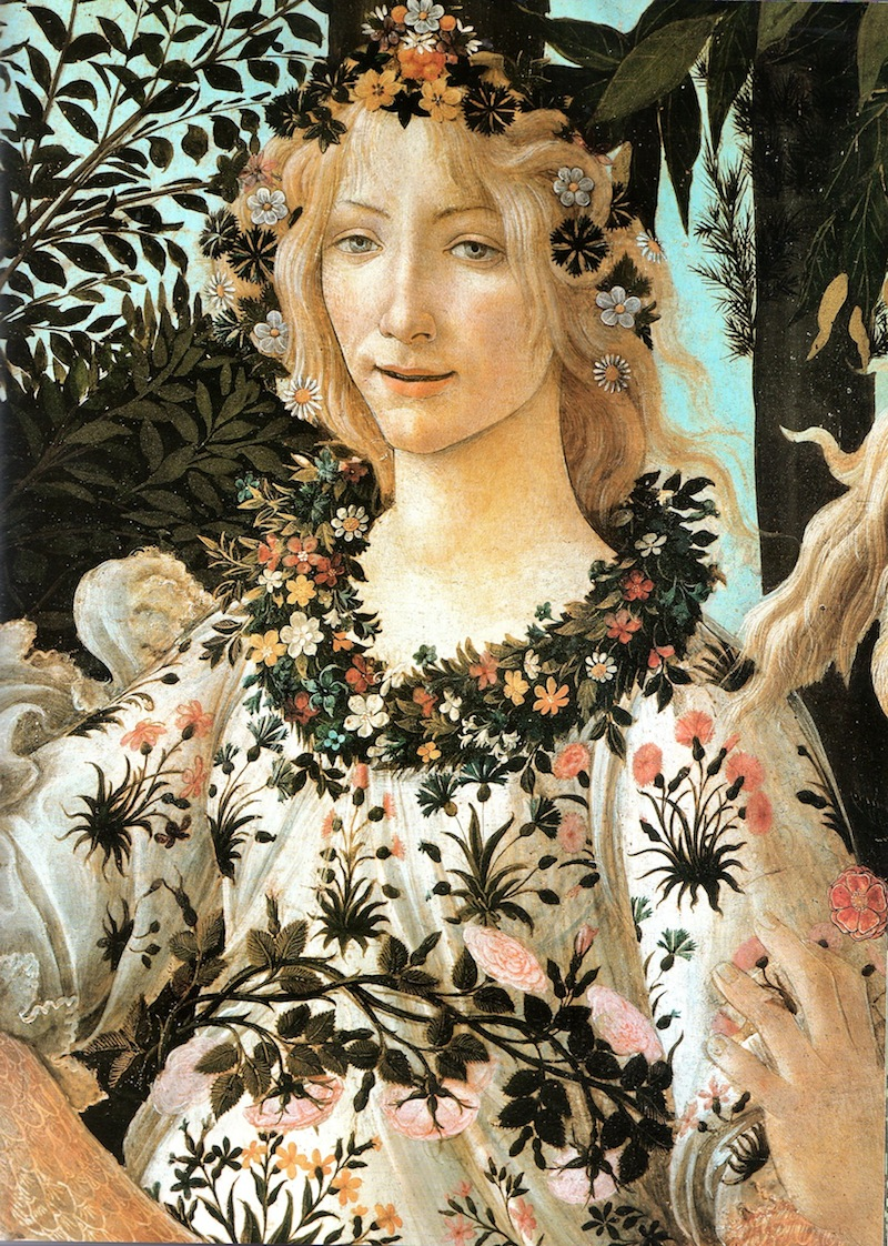 Sandro Botticelli Primavera part. 1478