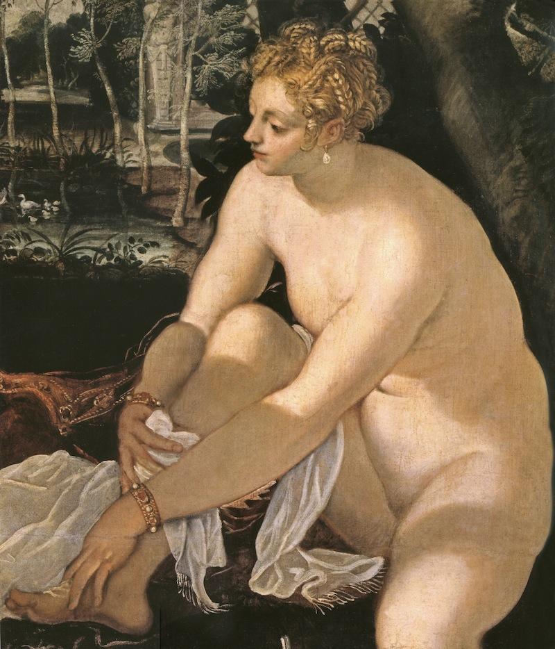 Tintoretto - Susanna e i 7 vecchioni