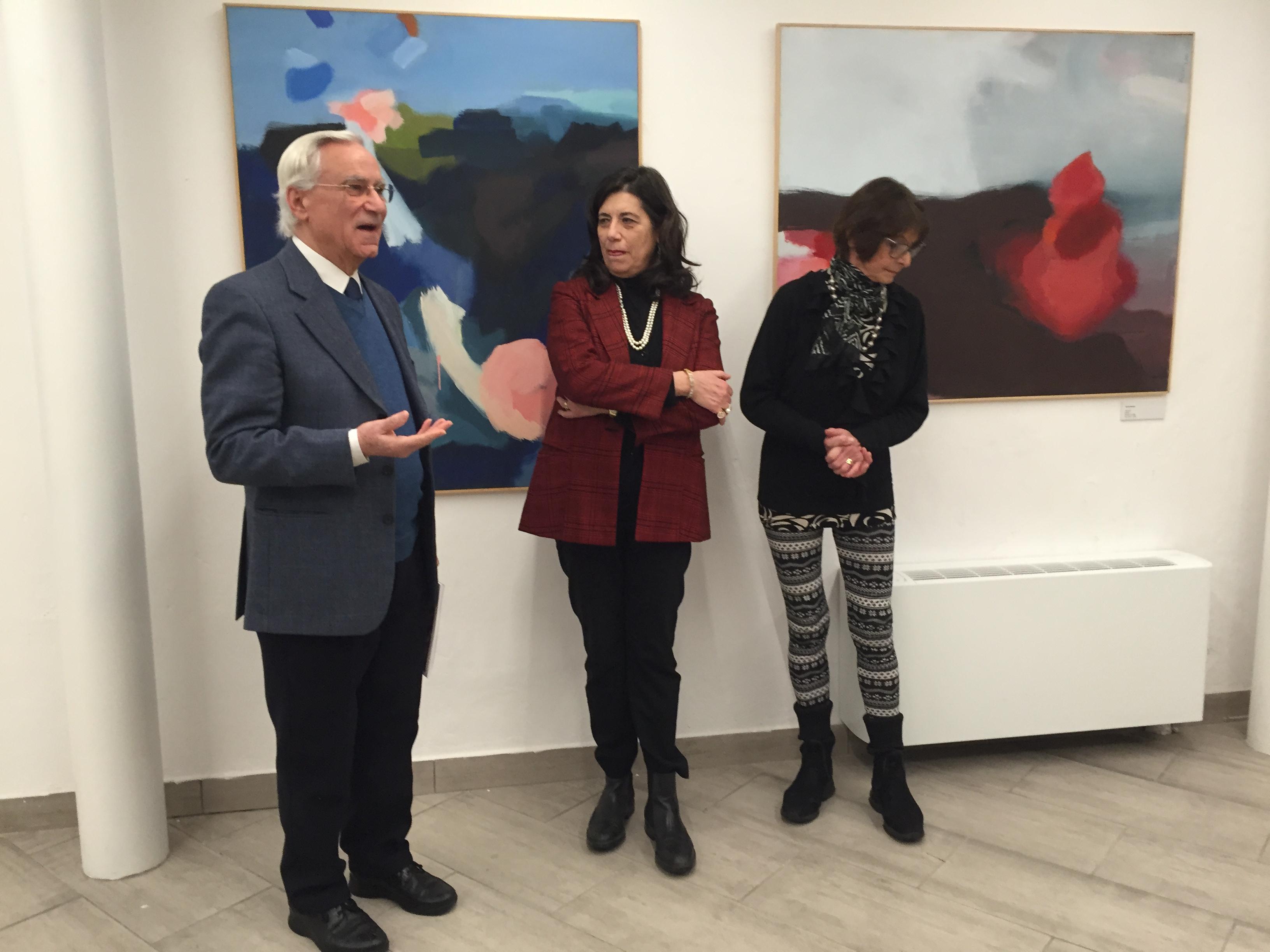 Giovanni Bonanno, Carla Horat. Valeria Patrizia Li Vigno Direttrice Museo
