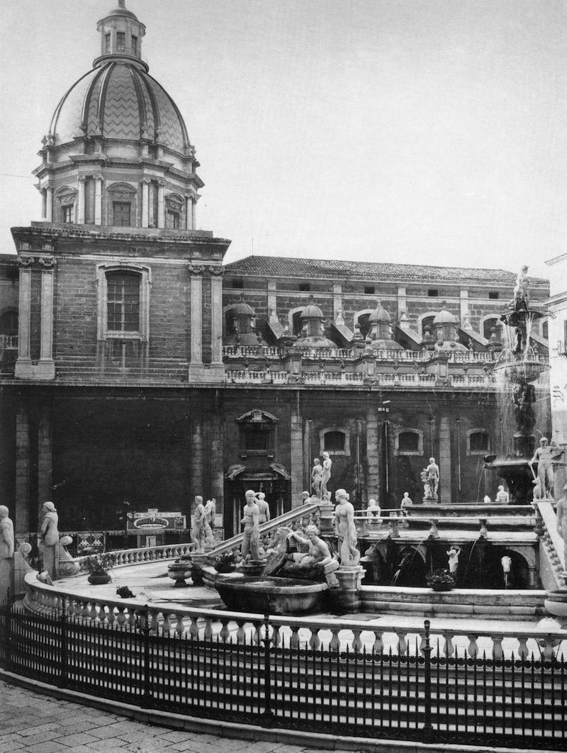 Camillo Camilliani - Fontana Pretoria - Palermo