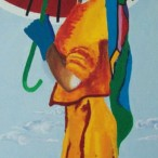 Donna con parasole