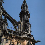 Ecosse. Edimbourg. Monument Walter Scott (1846)