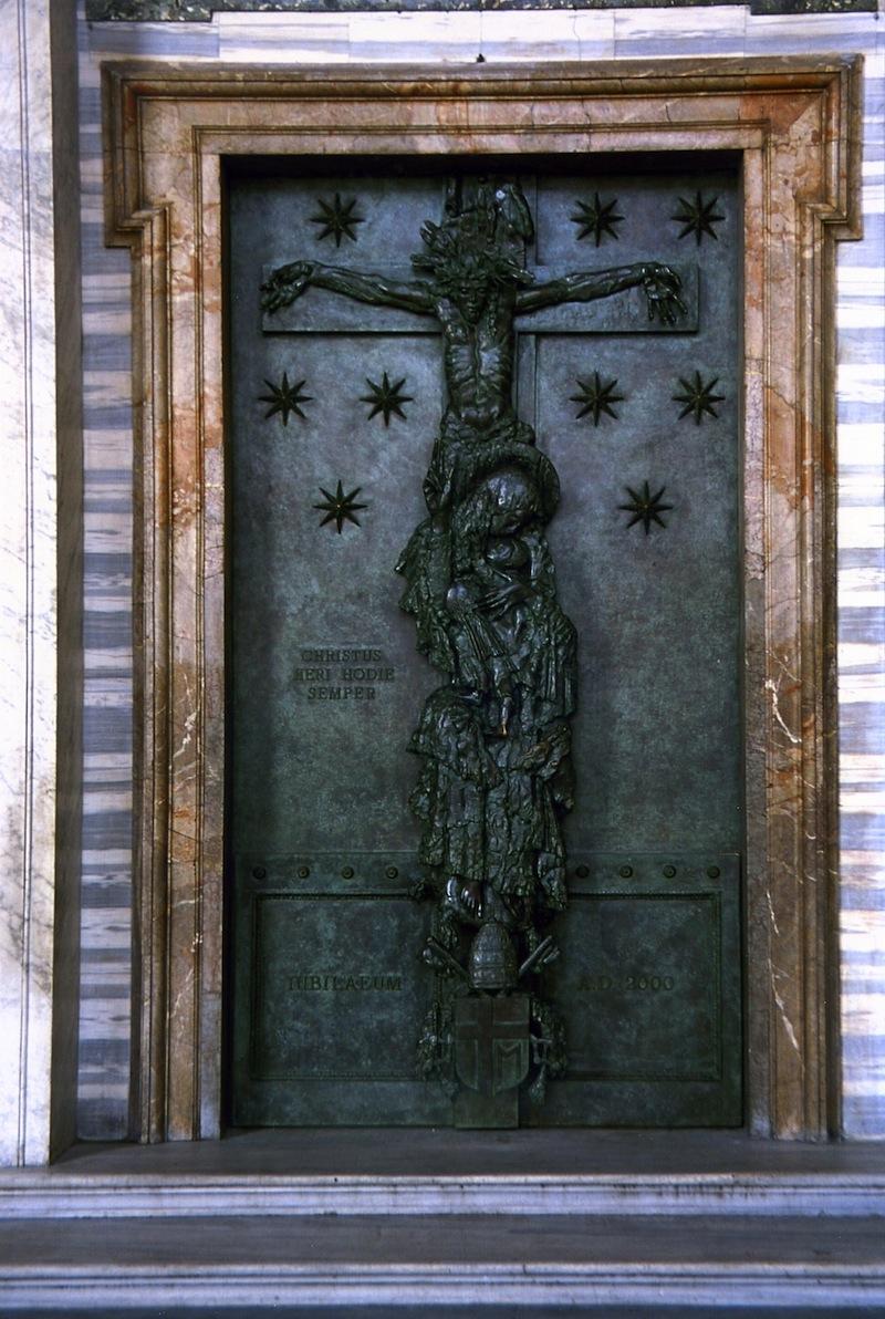 Floriano Bodini - La Porta Santa, Roma, 2000