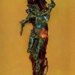 Lucio Fontana - Crocifissione