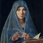 Antonello da Messina - Annunziata, Palermo, Galleria Regione della Sicilia, Palazzo Abatellia