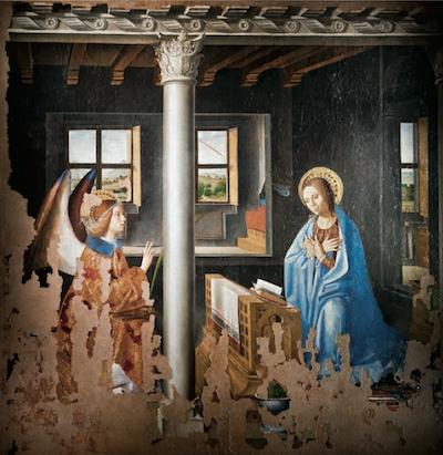 Antonello da Messina - Annunciazione, Siracusa, Galleria Regionale di Palazzo Bellomo