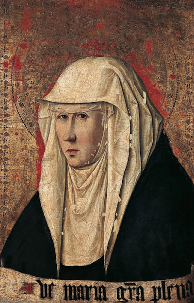 Antonello da Messina -Annunziata, Como, Pinacoteca Civica