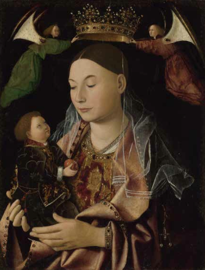 Antonello da Messina -Madonna con Bambino, Londra, National Gallery
