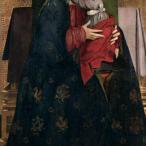 Antonello da messina - Madonna con Bambino e due angeli reggicorona, Firenze, Galleria degli Uffizi