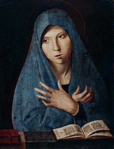 Antonello da Messina - Annunziata, Monaco, Bayerische Staatsgemalde-sammlungen
